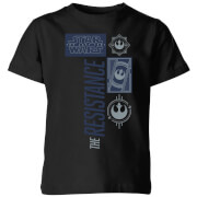 Camiseta Star Wars The Resistance - Niño - Negro
