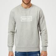 Narcos Box Logo Grey Sweatshirt - Grey