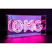 Image of Acrylic Box Neon OMG - Pink