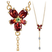 Harry Potter Hermione Granger's Red Crystal Replica Necklace