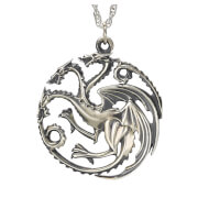 Game of Thrones House Targaryen Sterling Silver Pendant