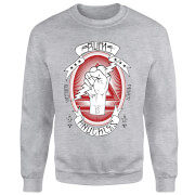 Rum Knuckles Victory Power Sweatshirt - Grey