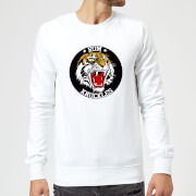 Sweat Homme Rum Knuckles Tiger - Blanc