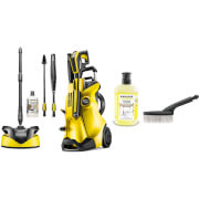 Karcher K4 Full Control Home Pressure Washer and Accessories Bundle