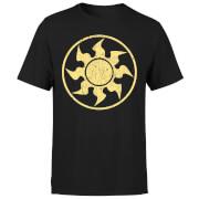 Magic The Gathering White Mana T-shirt - Zwart