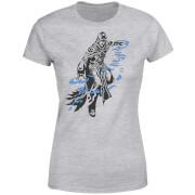 T-Shirt Femme Jace Design- Magic : The Gathering - Gris