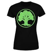 Magic The Gathering Mana Green Women's T-Shirt - Black