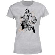T-Shirt Femme Gideon Design- Magic : The Gathering - Gris