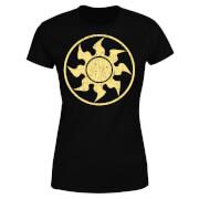 T-Shirt Femme Mana Blanc - Magic : The Gathering - Noir