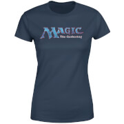 T-Shirt Femme Logo Vintage 93 - Magic : The Gathering - Bleu Marine