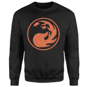 Magic The Gathering Mana Rot Pullover - Schwarz