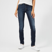 7 For All Mankind Women's Mid Rise Roxanne Jeans - Bairduchess - W26 - Blue