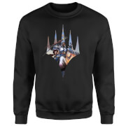 Magic The Gathering Key Art With Logo Sweatshirt - Black