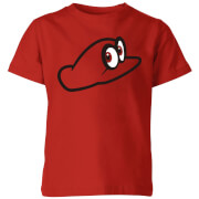 Nintendo Super Mario Odyssey Cappy Kids' T-Shirt - Red