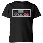 Nintendo NES Controller Chest Kids' T-Shirt - Black