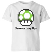 Nintendo Super Mario Powering Up T-Shirt Kids' T-Shirt - White