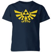 Nintendo The Legend Of Zelda Hyrule Kids' T-Shirt - Navy