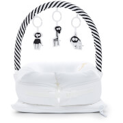 Sleepyhead Mobile Toy Arch - Black/White Stripe