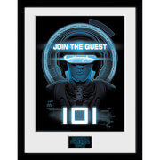 Ready Player One Join The Quest 12 x 16 Inches Framed Photograph