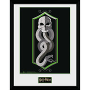 Harry Potter Skull 12 x 16 Inches Framed Photograph