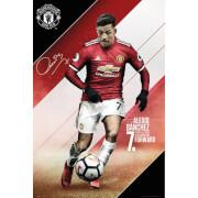 Manchester United Sanchez 17/18 Maxi Poster 61 x 91.5cm