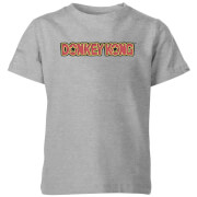 Nintendo Donkey Kong Distressed  Kids' T-Shirt - Grey
