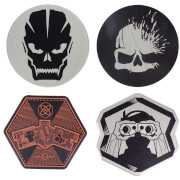 Call of Duty Metal Coasters