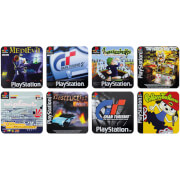 Dessous de Verre Playstation (Lot de 8)