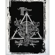 Harry Potter Deathly Hallows Graphic Mini Poster 40 x 50cm