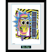 Rick and Morty Crazy 12 x 16 Inches Framed Photograph