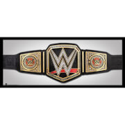 WWE Title 12 x 30 Inches Framed Photograph