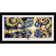 Doctor Who Exploding Tardis 50 x 100cm Framed Photograph