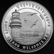 Jaws 'Amity Island' Collector's Limited Edition Coin: Silver Variant – Zavvi Exclusive