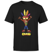 Crash Bandicoot Aku Aku Men's T-Shirt - Black