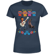 Disney Coco Miguel en Dante Dames T-shirt - Navy
