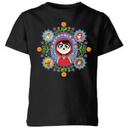 Coco Remember Me Kinder T-Shirt - Schwarz