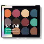Купить Палетка теней для век NIP + FAB Make Up Eyeshadow Palette - Jewel 12 г