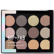 Купить Палетка теней для век NIP + FAB Make Up Eyeshadow Palette - Gentle Glam 12 г
