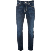 Only & Sons Men's Weave 7017 Regular Fit Jeans - Dark Blue
