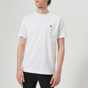 PS by Paul Smith Men's Regular Fit Zebra T-Shirt - White