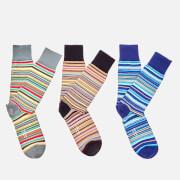 Paul Smith Accessories Men's 3 Pack Socks - Multi