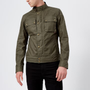 Belstaff Men's Racemaster Jacket - Green Smoke - IT 46/S - Green