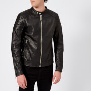 Belstaff Men's Northcott Leather Jacket - Black - IT 52/XL - Black