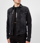 Versus Versace Men's Denim Jacket - Black - IT 48/M - Black