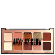 NYX Professional Makeup NYX Professional Makeup Away We Glow Shadow Palette 10g - Hooked On Glow