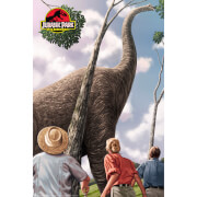 Jurassic Park 25th Anniversary Fine Art Giclee by Sam Gilbey - Zavvi Exclusive Limited Edition