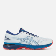 Asics Running Men's Gel-Kayano 25 Trainers – White/Blue Print – UK 7 – White