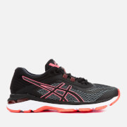 Asics Running Women's Gt-2000 6 Trainers - Black/Flash Coral - UK 4.5 - Black