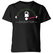 Daughter Fuel Full Kids T-Shirt - Black