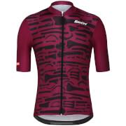 Santini La Vuelta 2018 La Huesera Jersey - Purple